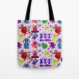 Monster Party Tote Bag