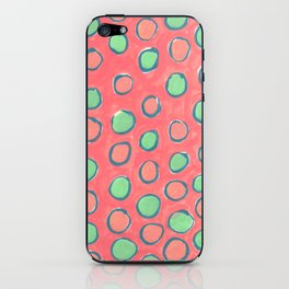 polka dot iPhone Skin