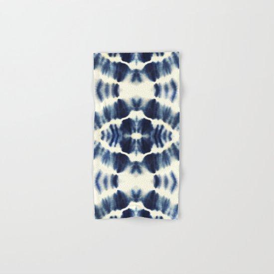 BOHEMIAN INDIGO BLUE Hand & Bath Towel