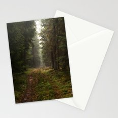 Lost in the forest Stationery Cards