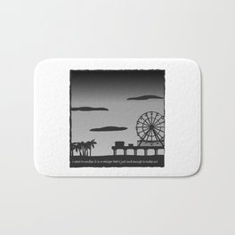 Santa Monica Confession Bath Mat