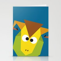 ram Stationery Cards featuring Ram by Fairytale ink