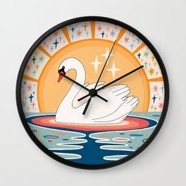 The stream of love Wall Clock
