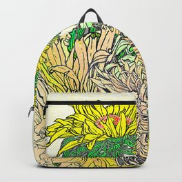 With Flowers Backpack