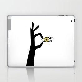 Yellow Eye Laptop & iPad Skin
