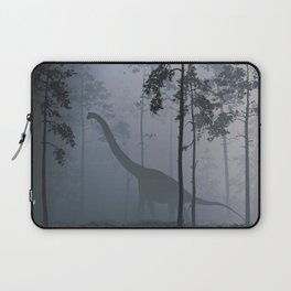 Dinosaur by Moonlight Laptop Sleeve