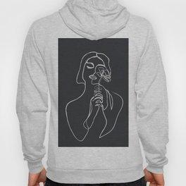 Minimalist Abstract Woman VI Hoody