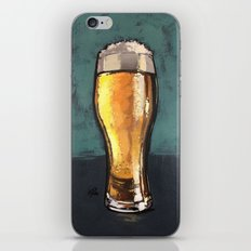 Glass of Beer iPhone & iPod Skin