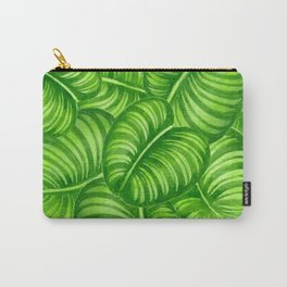 Calathea leaves Carry-All Pouch