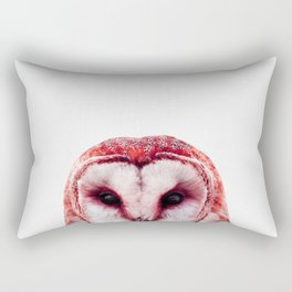 Red owl Rectangular Pillow