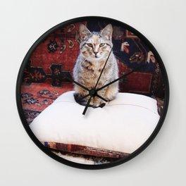 Cats of Istanbul I Wall Clock