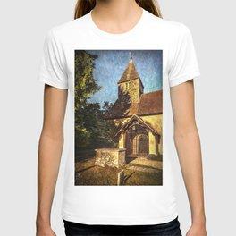St Laurence Church Tidmarsh T-shirt