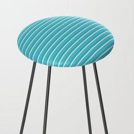 Lemoncello Striped Counter Stool