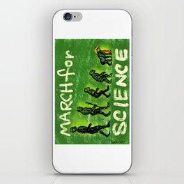March For Science iPhone Skin