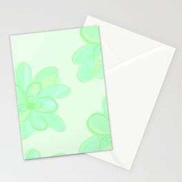 Succulent Print Stationery Cards