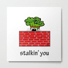 stalkin you Metal Print