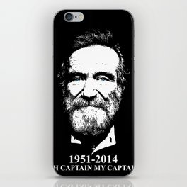 Oh Captain My Captain iPhone Skin