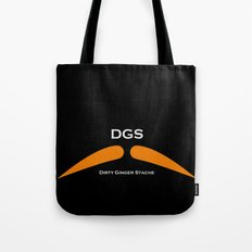 Dirty Ginger Stache Tote Bag
