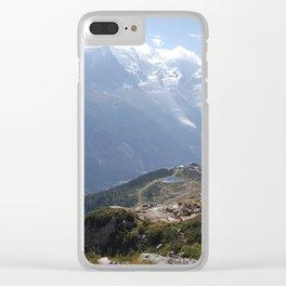 Descente lac blanc Clear iPhone Case