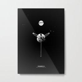 PIONEER 10 Metal Print