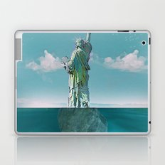 Under the statue Laptop & iPad Skin
