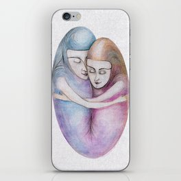 absolute togetherness iPhone Skin