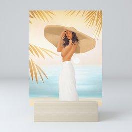 Serene Elegance Mini Art Print