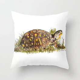 Mr. Turtle Throw Pillow