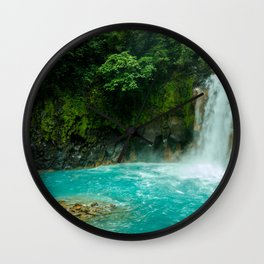 Rio Celeste, Costa Rica Wall Clock