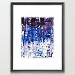 In a Crowd Framed Art Print