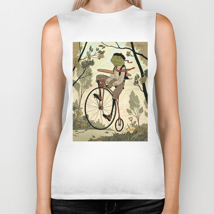 Morning Ride Biker Tank