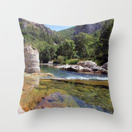 CantaRana Throw Pillow