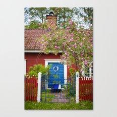 The Cottage. Canvas Print