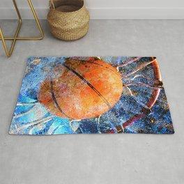 Basketball art vs vx 6 Rug