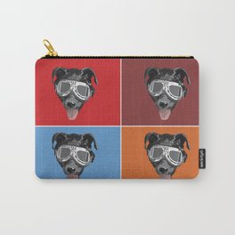 Goggles McGee - Dog With Goggles Carry-All Pouch