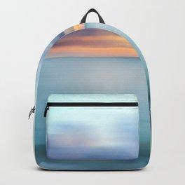 Ocean Sunrise Abstract Backpack