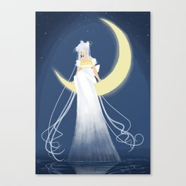 Moon Princess Canvas Print