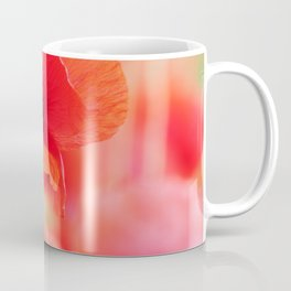 #poppies #square #mural Mural in #Close up Coffee Mug