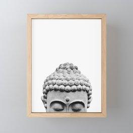 Shy Buddha Framed Mini Art Print
