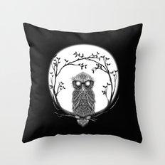 SPECTAC-OWL Throw Pillow