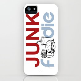 I HEART Junk Food iPhone Case