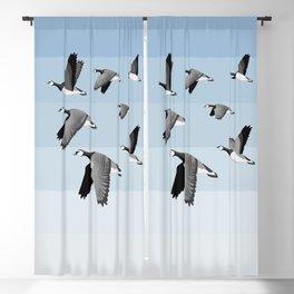 Barnacle Geese flock Blackout Curtain