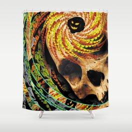 All Hallowed Shower Curtain