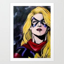 Carol Danvers Art Print