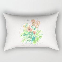 Flower flower Rectangular Pillow