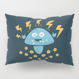 Heavy Metal Mushroom Pillow Sham