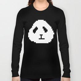 Pixel Panda Long Sleeve T-shirt