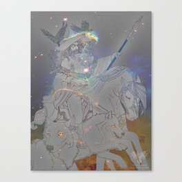 Odin the All-Father Canvas Print