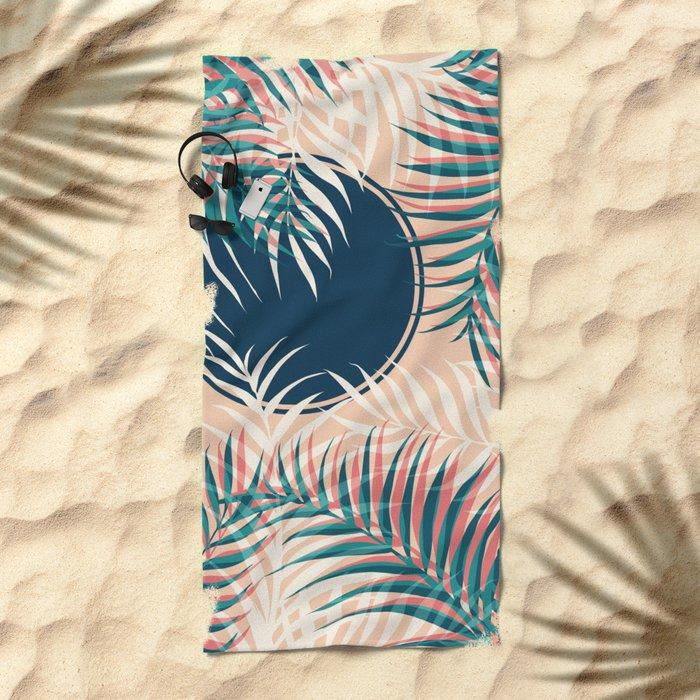 Tropical Sun #society6 #decor #buyart Beach Towel