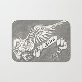 Horroroscopo Aries Bath Mat